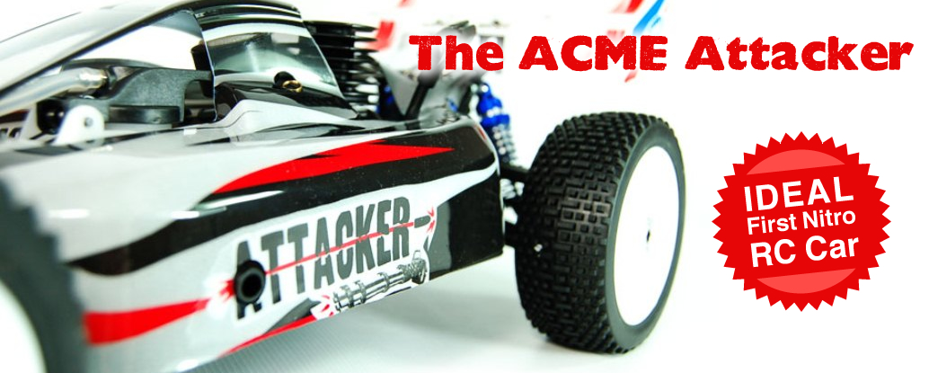 ACME Attacker Nitro RC Buggy