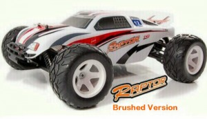 ACME Raptor 1/10 Scale RC Brushed Truggy Left Front 2