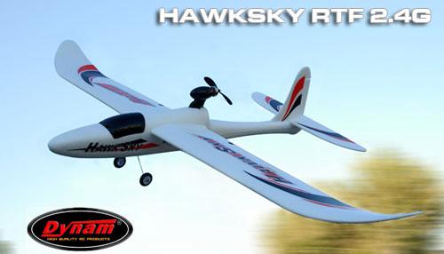 Dynam Hawksky Sport Trainer RC Plane RTF