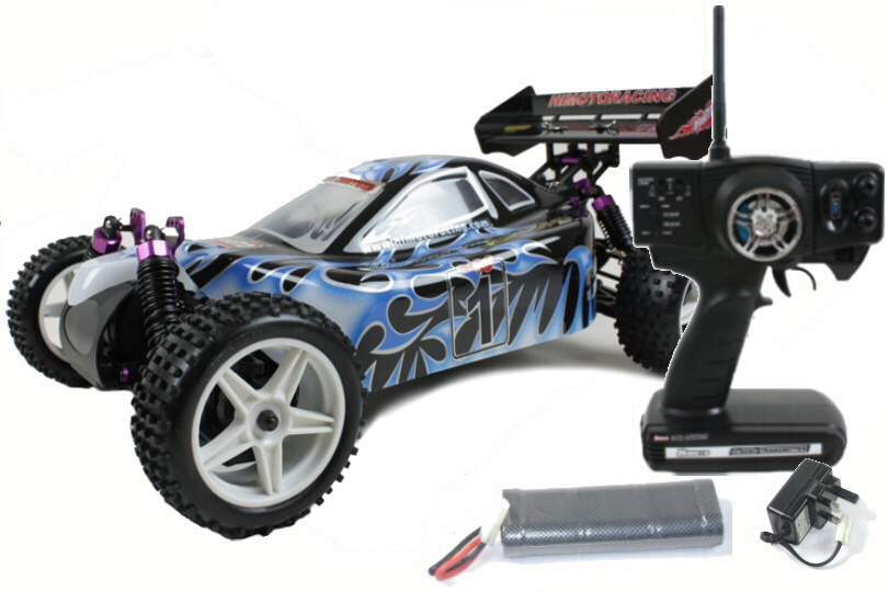 Himoto Racing 1/10 Zmoto Electric buggy 3101Blue_Lightning