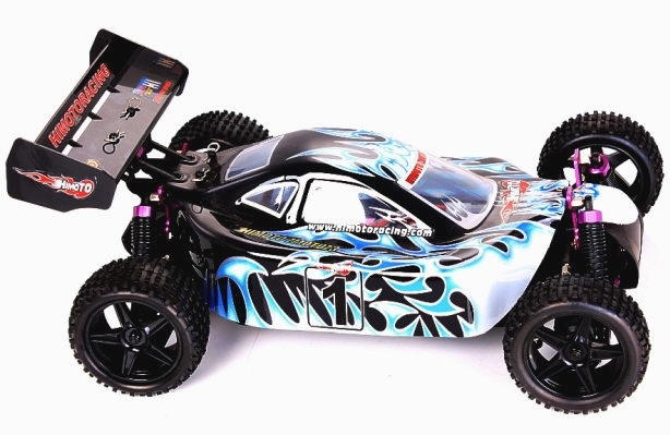 Himoto Racing Electric RC Buggy 3101 1/10 Scale 4WD 2.4G - RC-Hobbies