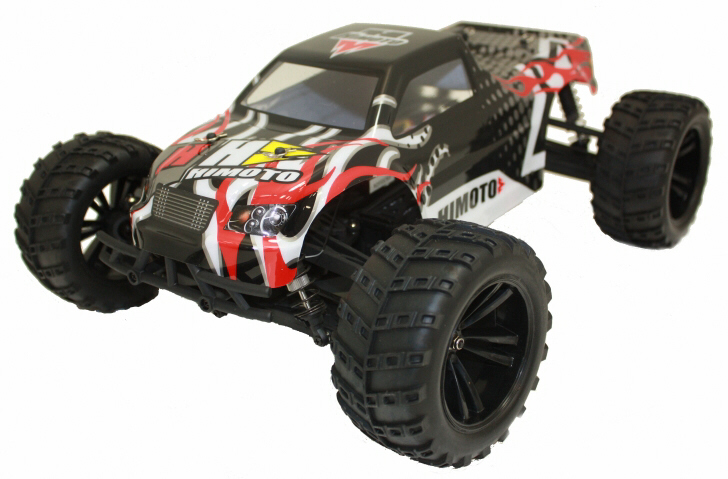 Himoto_Racing_Bowie_RC_Brushless_Truck_Black_Front_Left
