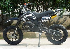Mini Moto 50cc Dirt Bike KXD01 Black Left