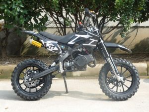 Mini Moto 50cc Dirt Bike KXD01 Black Right