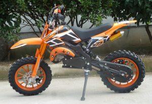 Mini Moto 50cc Dirt Bike KXD01 Orange Left
