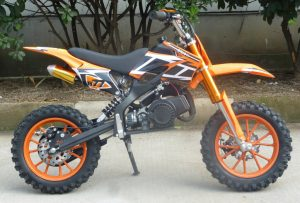 Mini Moto 50cc Dirt Bike KXD01 Orange Right