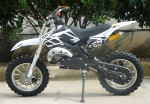 Mini Moto 50cc Dirt Bike KXD01 White Left