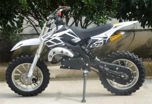 Mini Moto 50cc Dirt Bike KXD01 White Left
