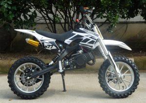 Mini Moto 50cc Dirt Bike KXD01 White Right
