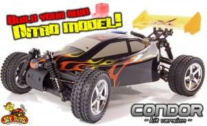 RC Nitro Self Assembly Kits