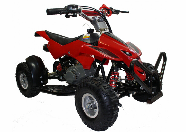 mini moto 50cc petrol mini quad bike street assassin uk stock colour choice ebay. Black Bedroom Furniture Sets. Home Design Ideas