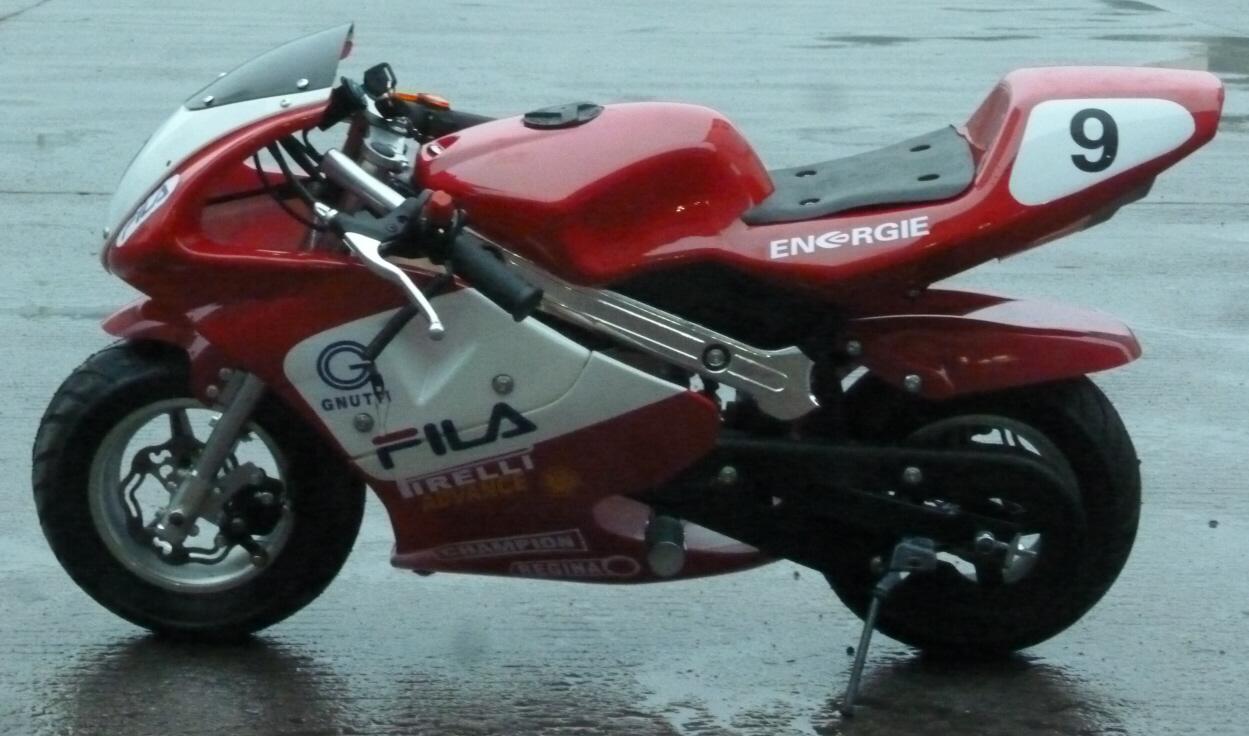 Mini Moto 50cc Mini Racing Motorbike Upgraded Pro
