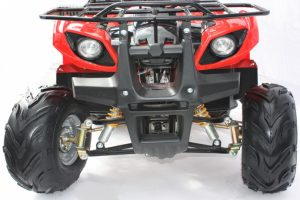 Quad_Bike_125cc_Electric_Start_Reverse_Red_Front