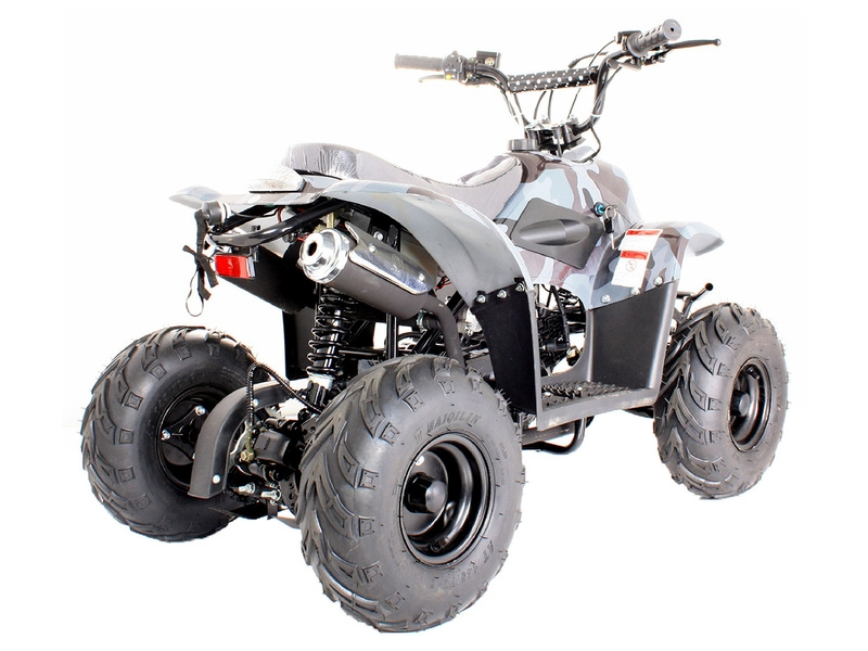 110cc Quad Bike Camo Thunder Cat 4 Stroke With Electric