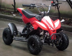 50cc_Mini_Quad_Red_Front_Right