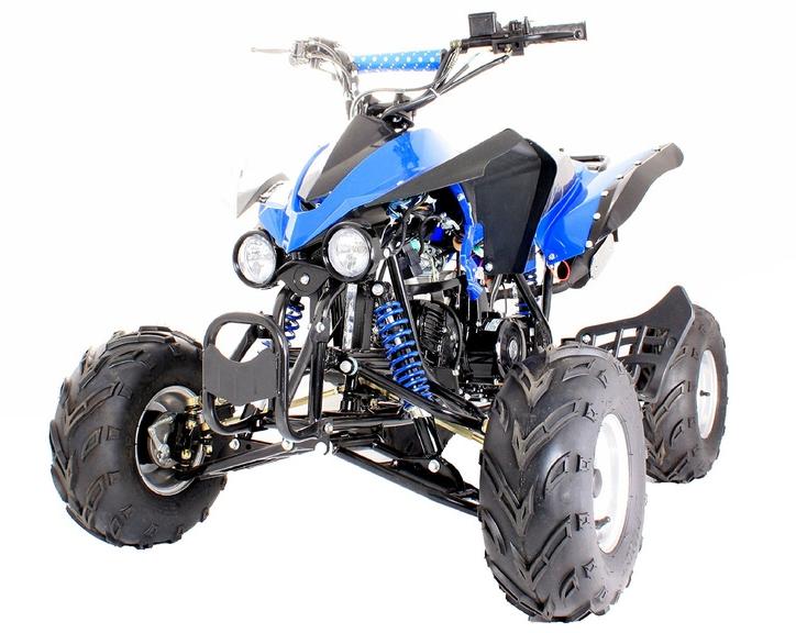 Interceptor 125cc Quad Bike 4 Stroke Electric Start with Reverse