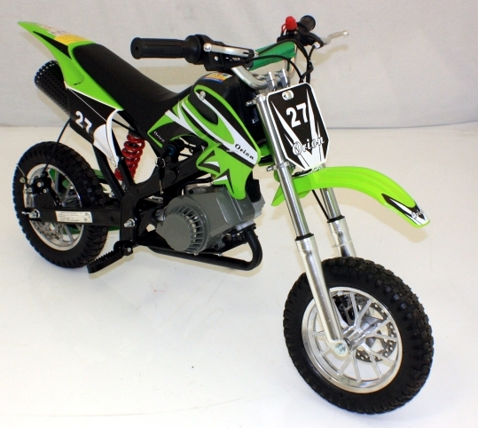 Mini Moto Scrambler Green on 110cc Pocket Bike For Sale