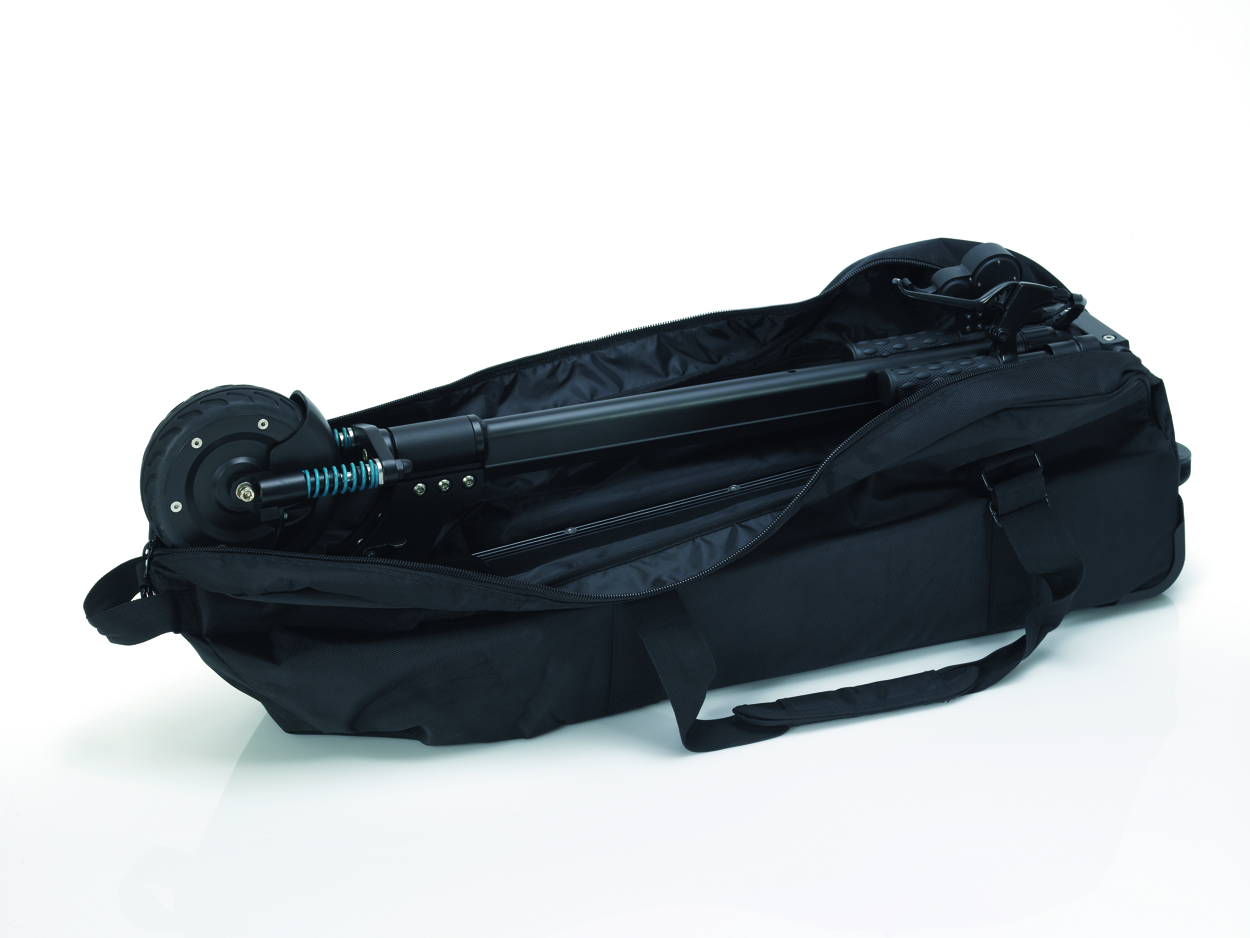 Egret one carry bag with wheels rc hobbies for Motorized ride on suitcase