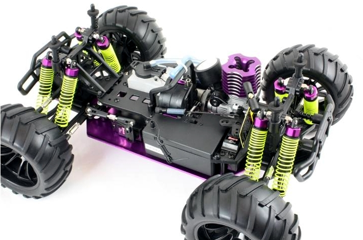 Himoto Racing Viper Mt Rc Nitro Monster Truck 1 10 Scale