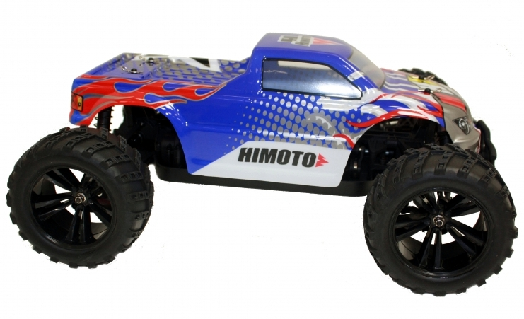 Himoto Racing Bowie 1/10 RTR 4WD Brushed Electric RC 2.4G Truck