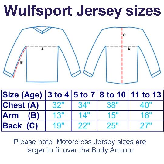Wulfsport_WSX-4_Cub_Motocross_Jersey_Size_Chart