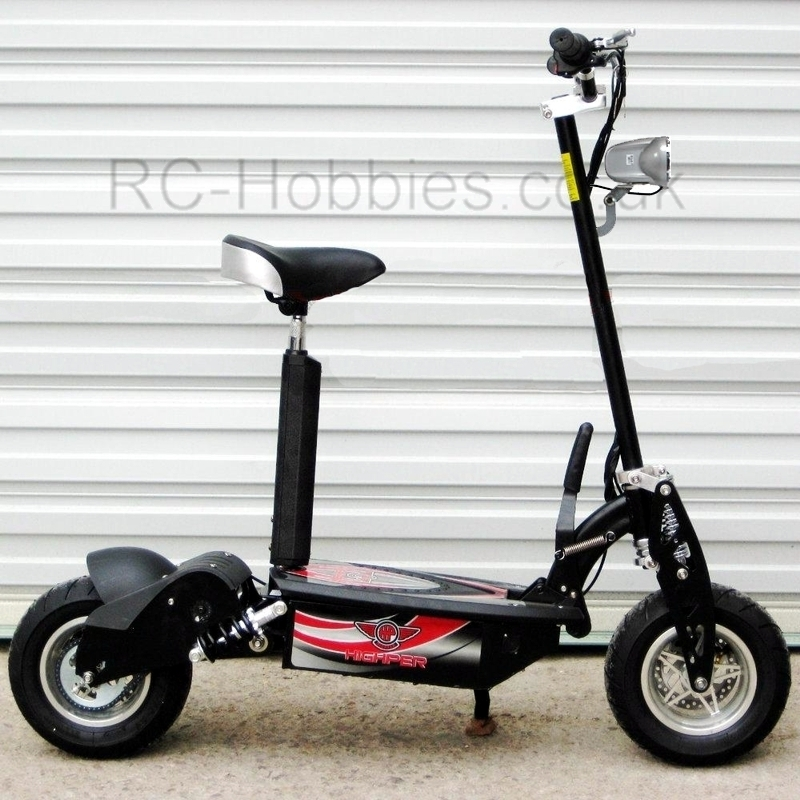 1000w electric scooter with removable seat and led lights. Black Bedroom Furniture Sets. Home Design Ideas