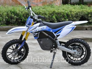 500W_Electric_Dirt_Bike_Gazelle_Blue_Left_RCH