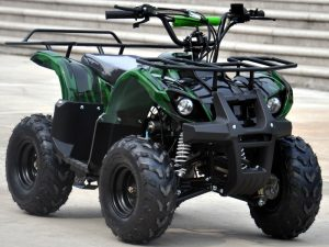 Condor_125cc_Quad_Green_Camo_Front_Right