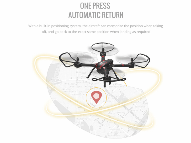 JJRC H11W 4ch RC Quadcopter Drone with Wi-Fi FPV Auto Return