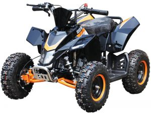 Quad_Mini_Moto_Hawkmoto_SX-49_Orange_Front_Left