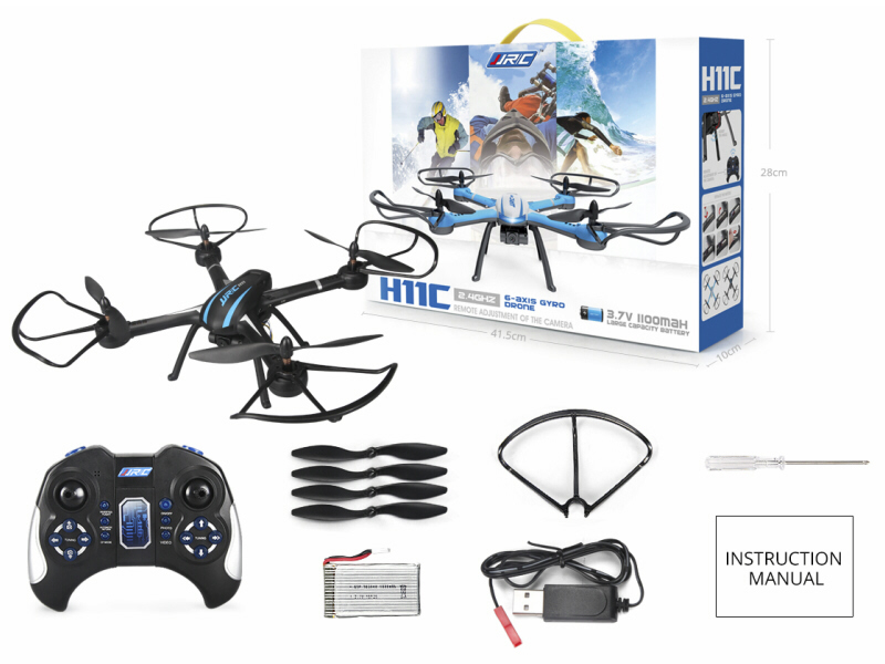JJRC_Quadcopter_H11C_In_The_Box