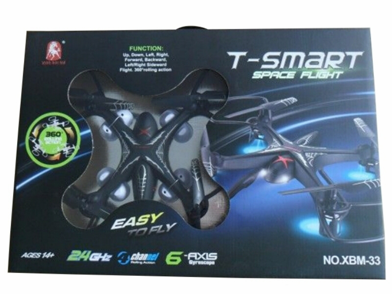 T-Smart Space Flight XMB-33 Quadcopter 2.4G 6-Axis Gyro