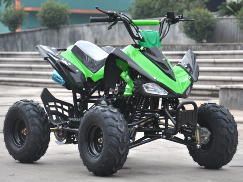 Interrogator 125cc Quad Bike 4 Stroke Electric Start with Reverse