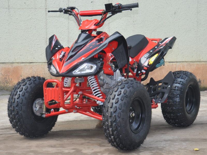 NEW Interrogator 125cc Quad Bike 4 Stroke Electric Start with Reverse