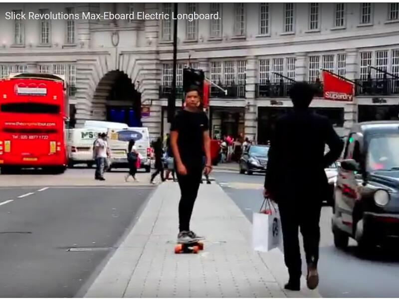 Slick Revolution Max-Eboard Electric Longboard