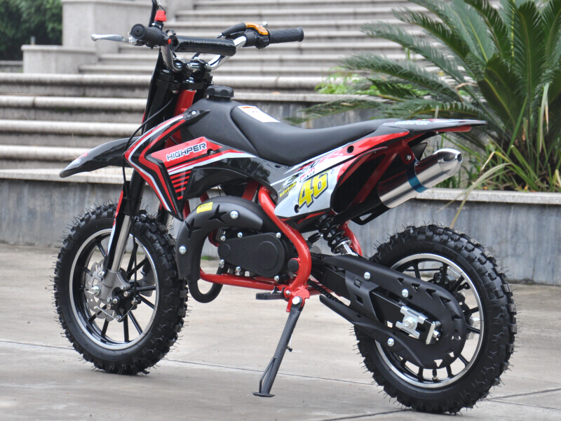 High Performance KXD49 50cc Mini Dirt Bike With Sports Tuned Racing Engine