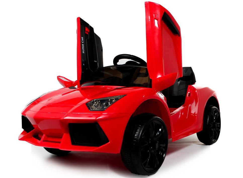 Ride On Lamborghini Style Roadster 12v With Parental Remote Control
