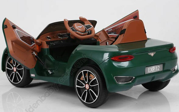 Ride On Fully Licenced Bentley Continental 12v with Parental Remote Control