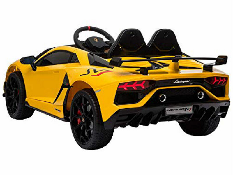 Ride On Fully Licenced Lamborghini Aventador SVJ 2 Seater with Parental Remote Control